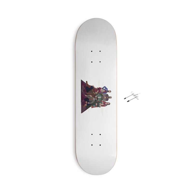 The Normies Renaissance Accessories Skateboard by The Normie's Merch Shop