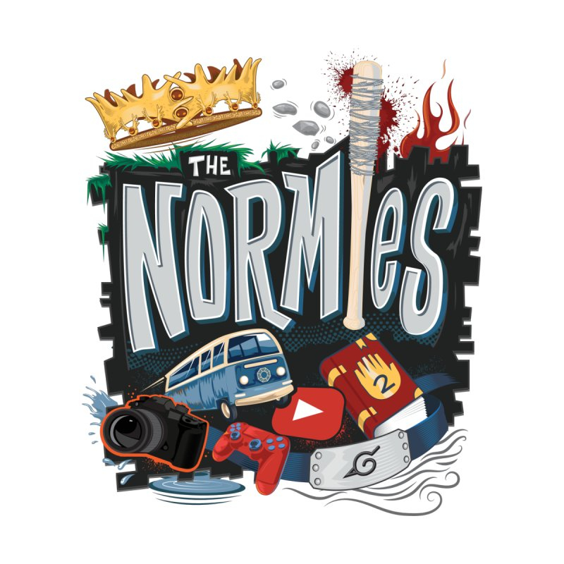 Normies Empire Home Fine Art Print by The Normie's Merch Shop