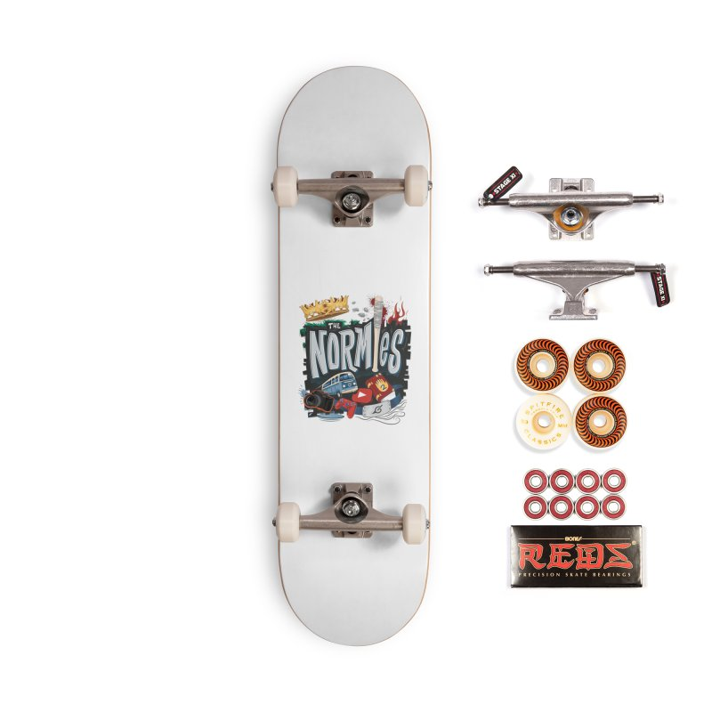 Normies Empire Accessories Skateboard by The Normies' Merch Shop