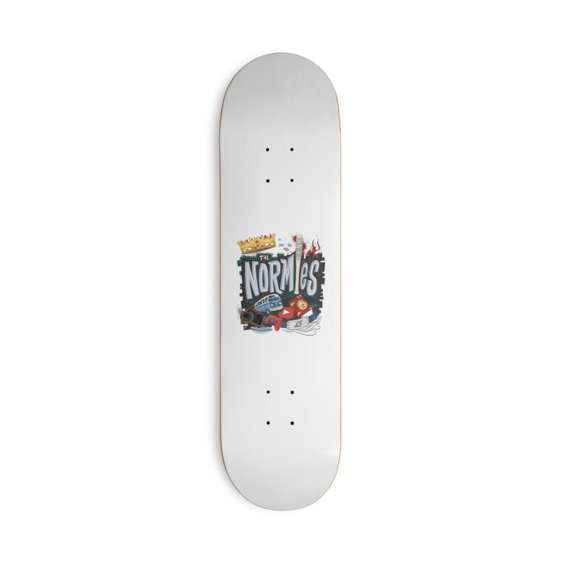 Normies Empire Accessories Skateboard by The Normie's Merch Shop