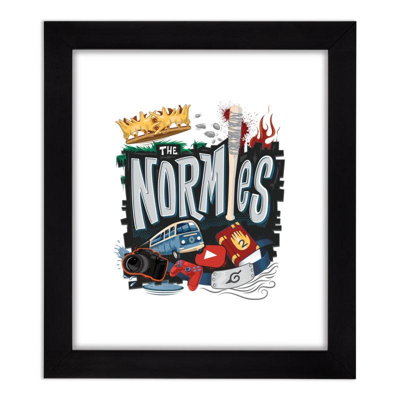 Normies Empire Home Framed Fine Art Print by The Normies' Merch Shop