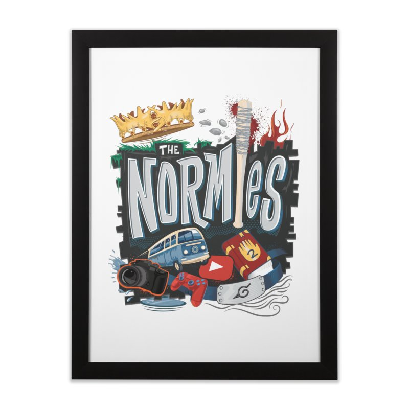 Normies Empire Home Framed Fine Art Print by The Normie's Merch Shop