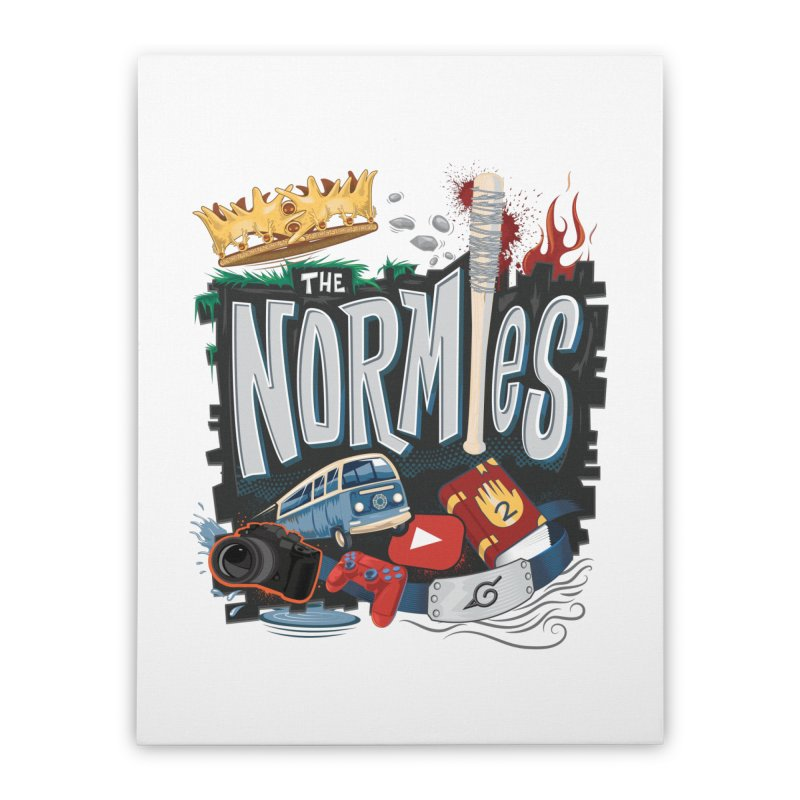 Normies Empire Home Stretched Canvas by The Normie's Merch Shop