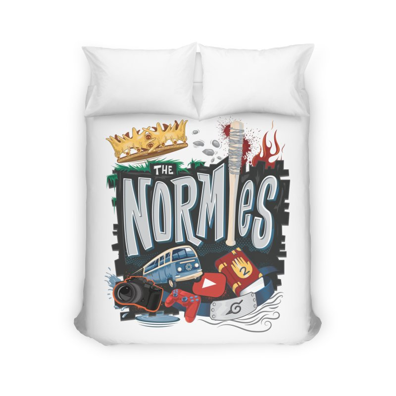 Normies Empire Home Duvet by The Normies' Merch Shop