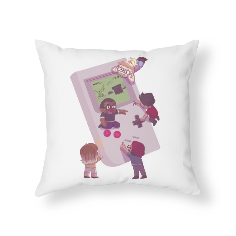 The Normies Gaming Home Throw Pillow by The Normie's Merch Shop