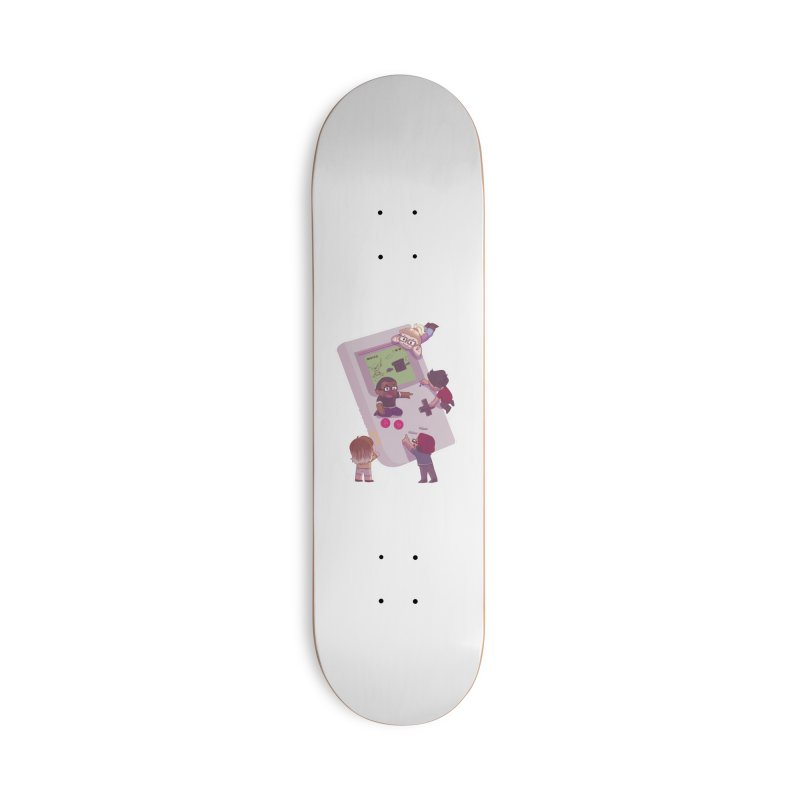 The Normies Gaming Accessories Skateboard by The Normie's Merch Shop