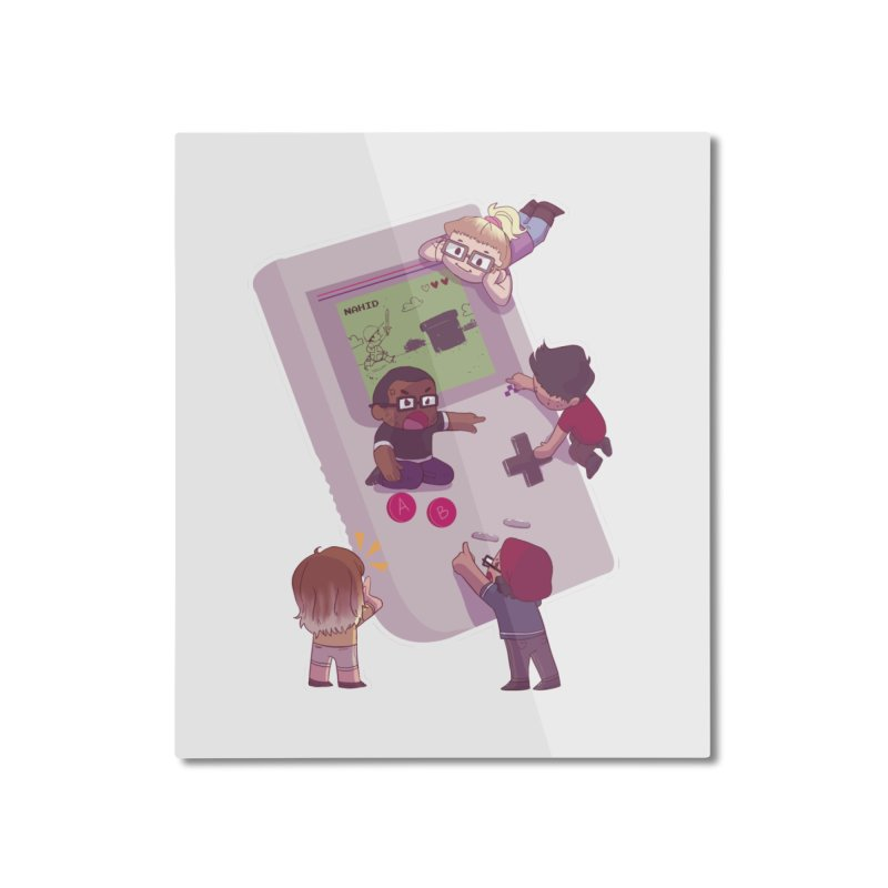 The Normies Gaming Home Mounted Aluminum Print by The Normie's Merch Shop