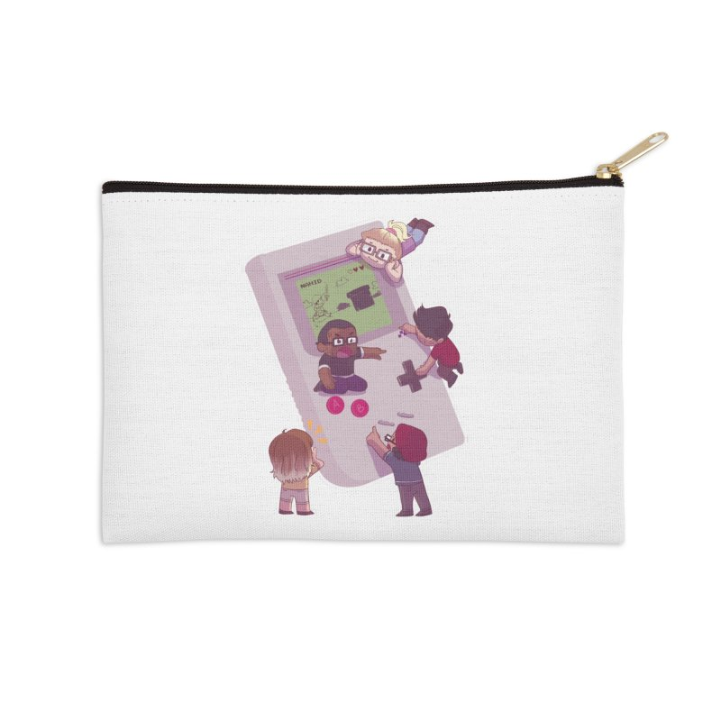 The Normies Gaming Accessories Zip Pouch by The Normie's Merch Shop