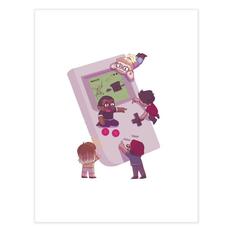 Nintendopes Home Fine Art Print by The Normies' Merch Shop
