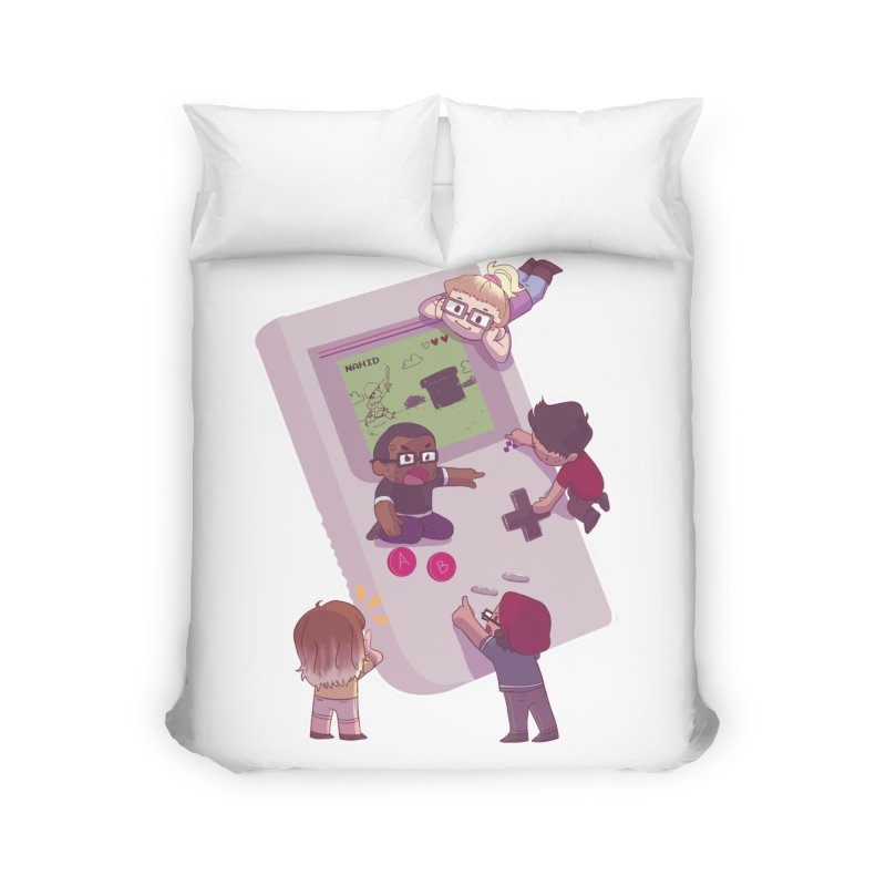 Nintendopes Home Duvet by The Normies' Merch Shop
