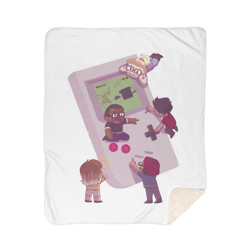 The Normies Gaming Home Blanket by The Normie's Merch Shop