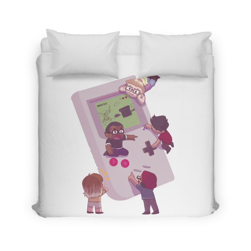 The Normies Gaming Home Duvet by The Normie's Merch Shop