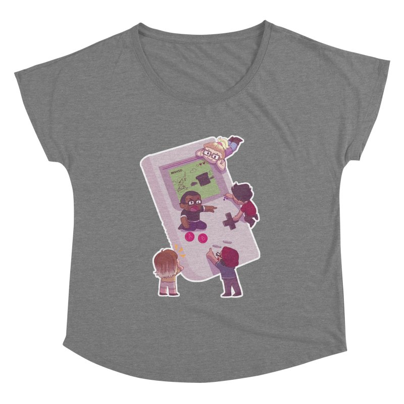 The Normies Gaming Women's Scoop Neck by The Normie's Merch Shop