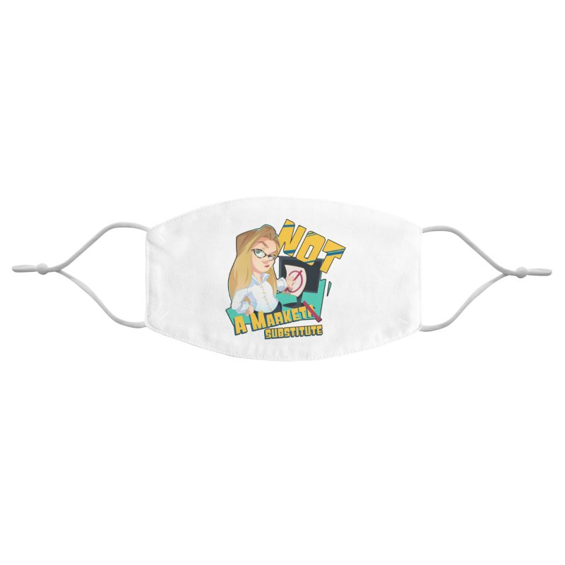 Marketa Substitute Accessories Face Mask by The Normies' Merch Shop