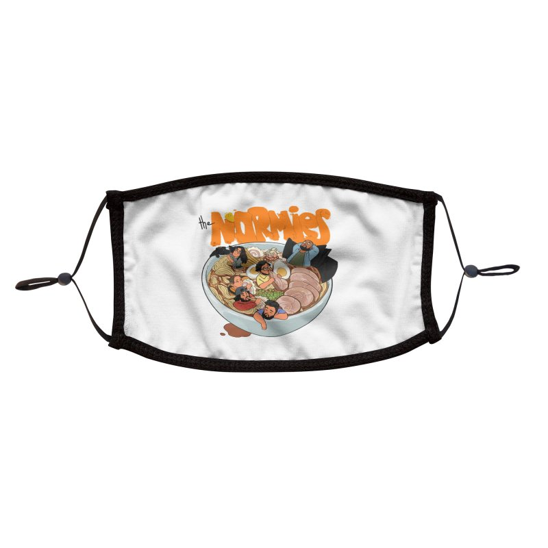 Bowl Buddies Accessories Face Mask by The Normies' Merch Shop