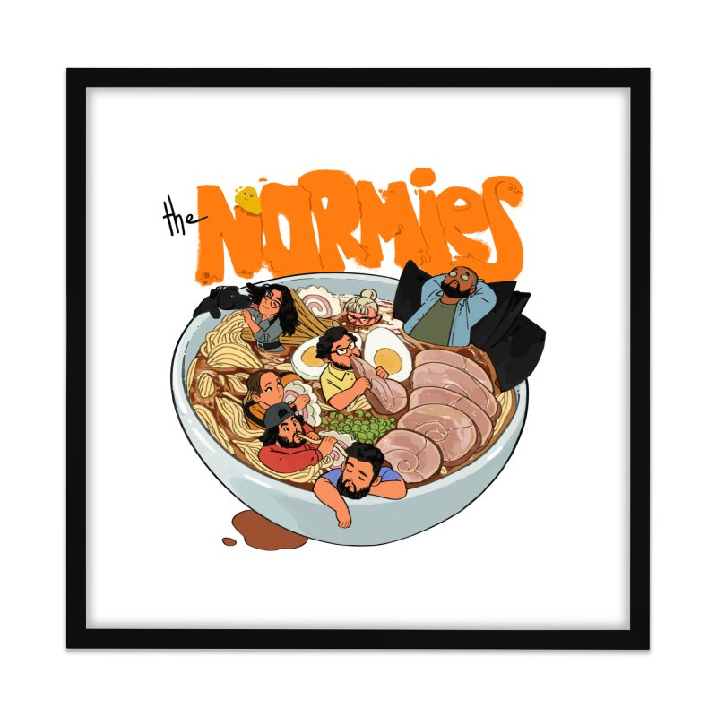 Bowl Buddies Home Framed Fine Art Print by The Normies' Merch Shop