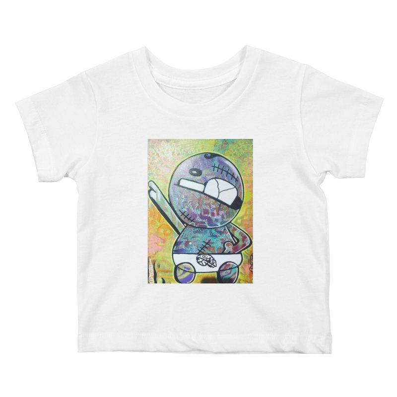 Acid Elvis Kids Baby T-Shirt by TheOnskeFace's Artist Shop