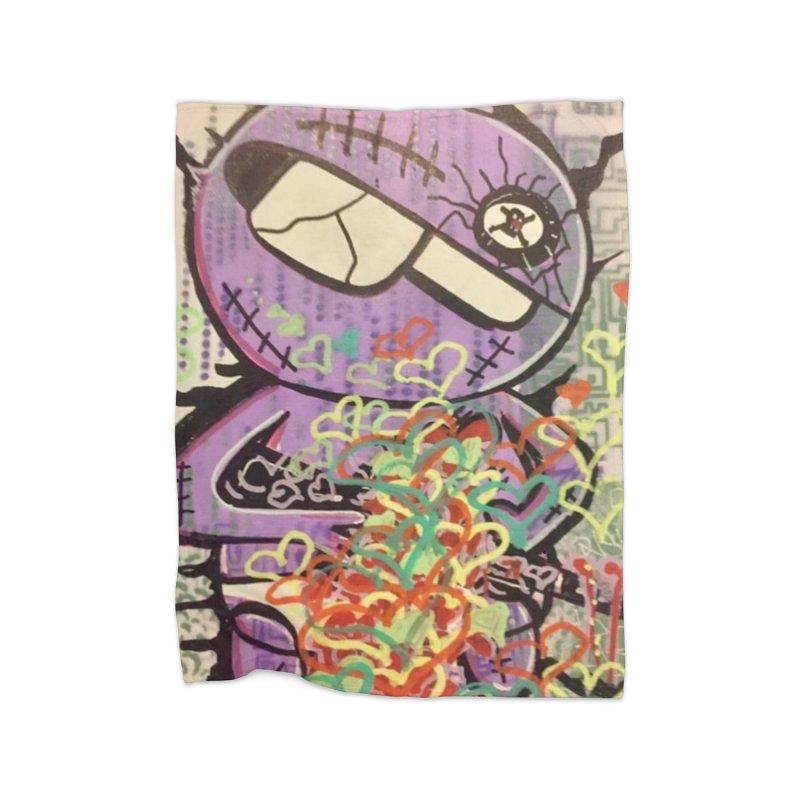 Beloved Poison Home Fleece Blanket Blanket by TheOnskeFace's Artist Shop