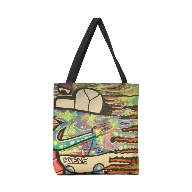 DMT Dreams Accessories Tote Bag Bag by TheOnskeFace's Artist Shop