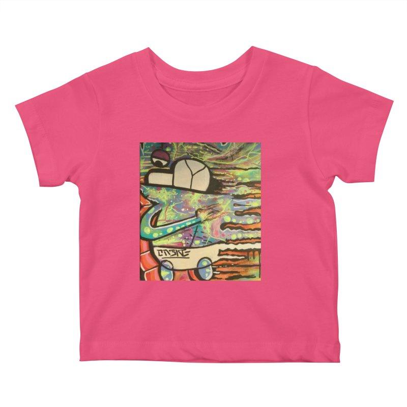 DMT Dreams Kids Baby T-Shirt by TheOnskeFace's Artist Shop