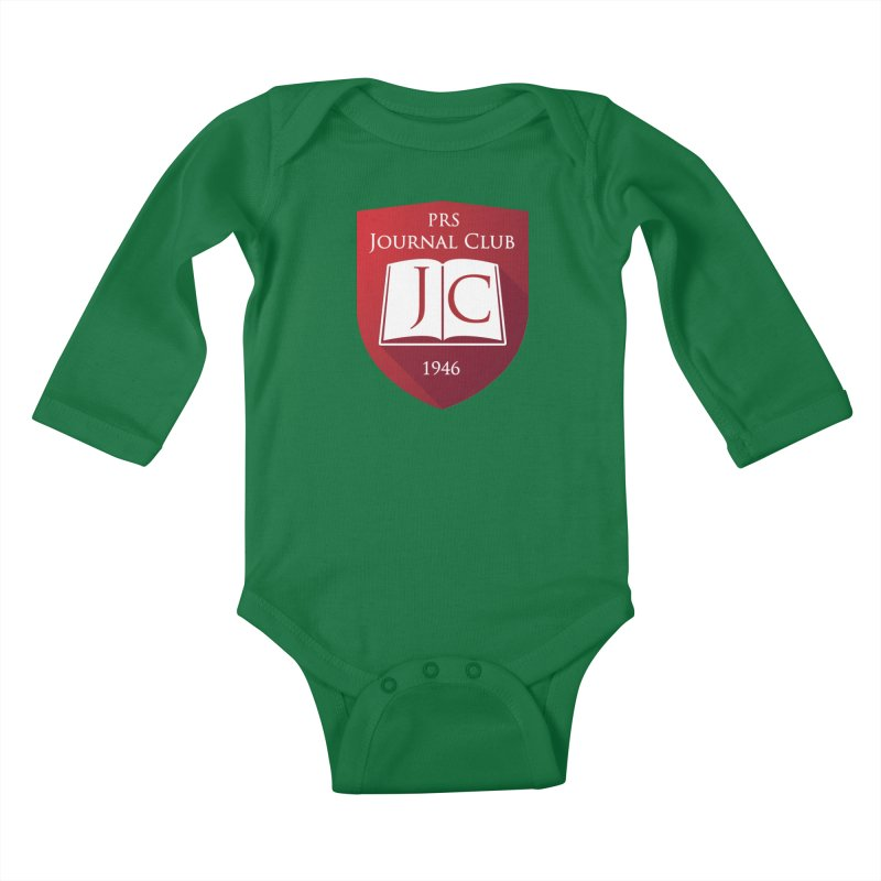 PRS Journal Club Kids Baby Longsleeve Bodysuit by ThePRSJournals's Artist Shop