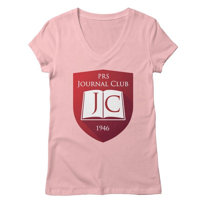 PRS Journal Club Women's V-Neck by ThePRSJournals's Artist Shop