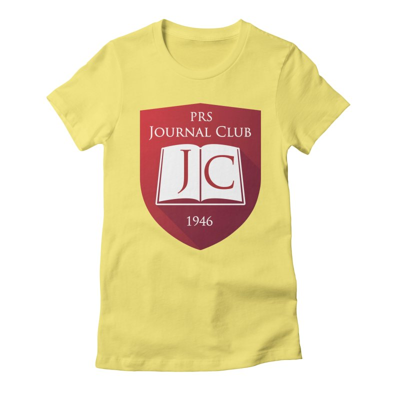 PRS Journal Club Women's Fitted T-Shirt by ThePRSJournals's Artist Shop