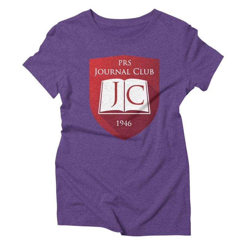 PRS Journal Club Women's Triblend T-shirt by ThePRSJournals's Artist Shop