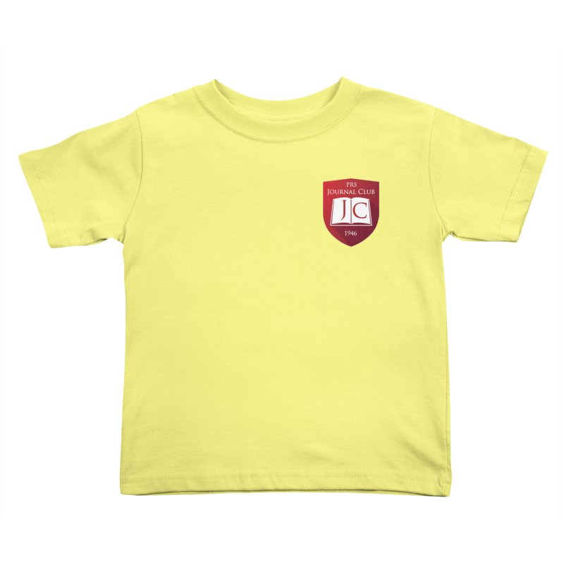 PRS Journal Club - Pocket Size Kids Toddler T-Shirt by ThePRSJournals's Artist Shop