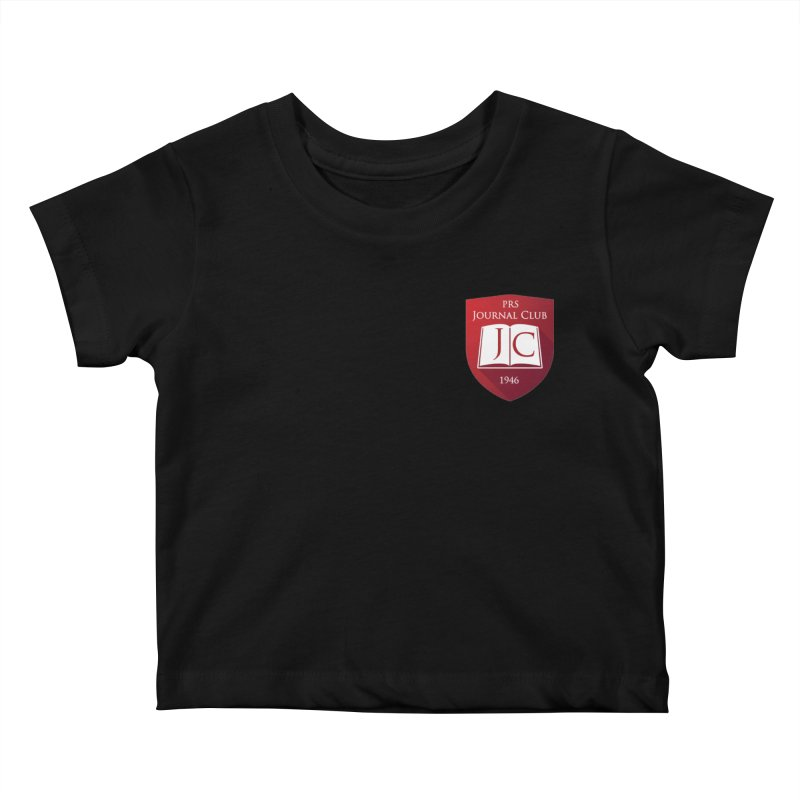 PRS Journal Club - Pocket Size Kids Baby T-Shirt by ThePRSJournals's Artist Shop