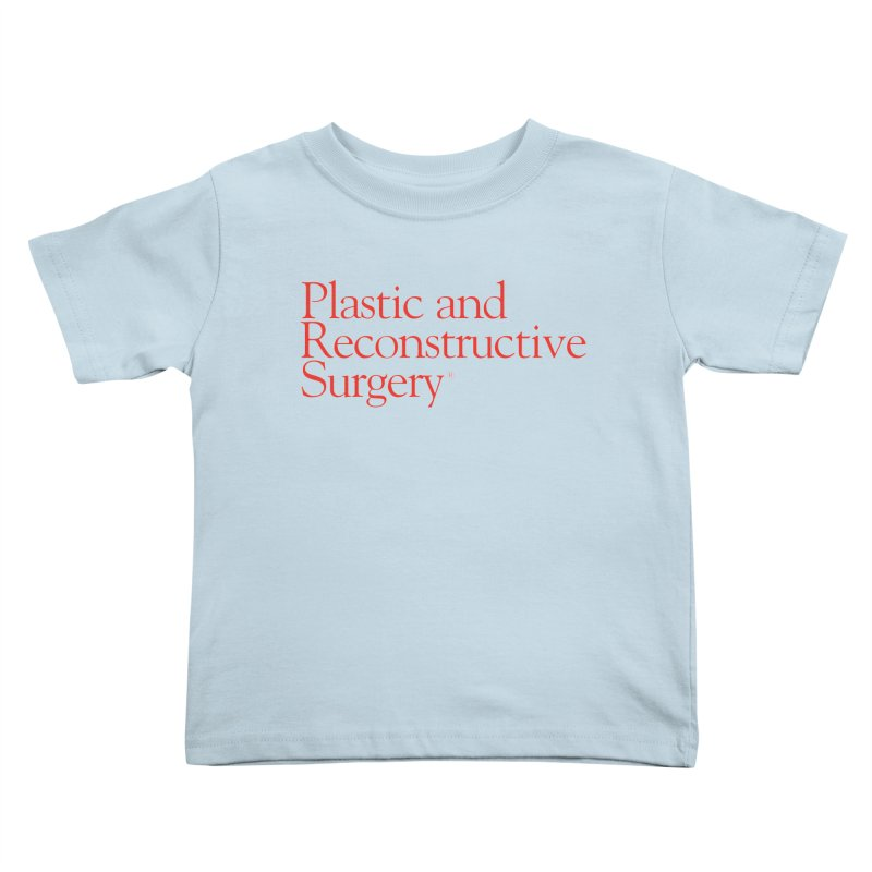PRS Logo Kids Toddler T-Shirt by ThePRSJournals's Artist Shop