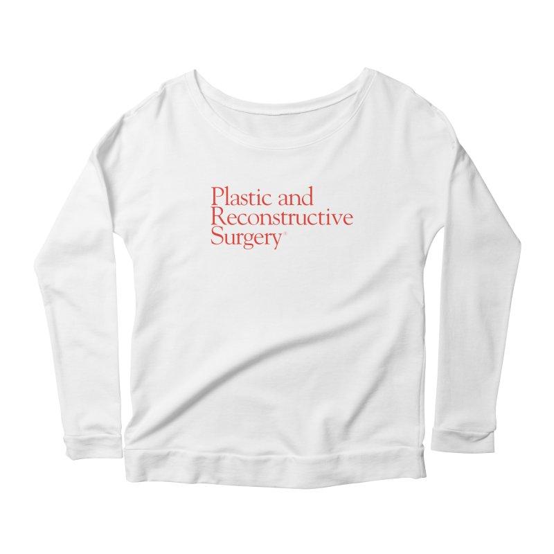 PRS Logo Women's Longsleeve Scoopneck  by ThePRSJournals's Artist Shop