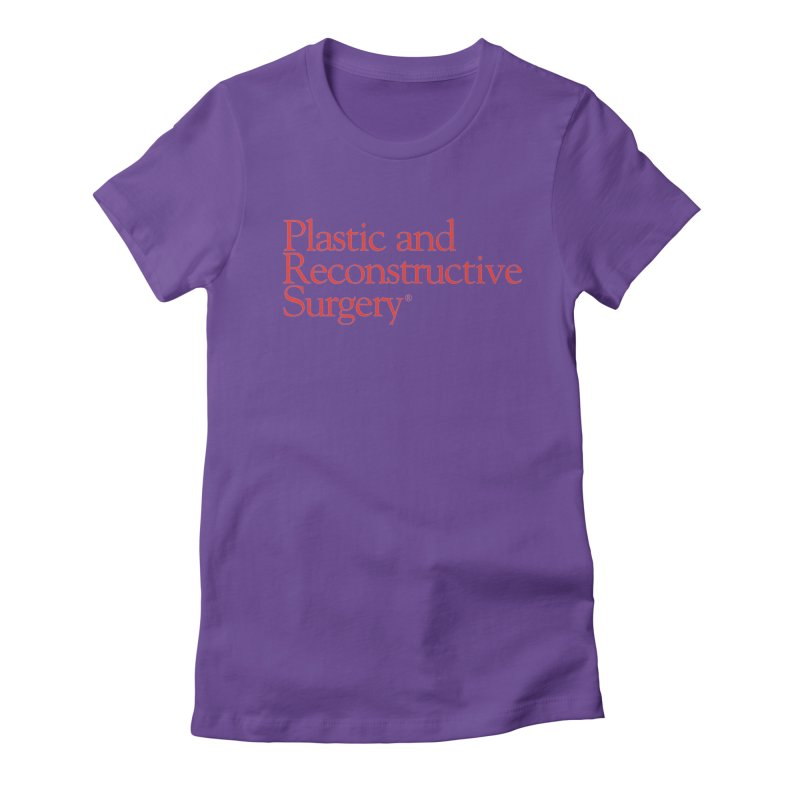 PRS Logo Women's Fitted T-Shirt by ThePRSJournals's Artist Shop