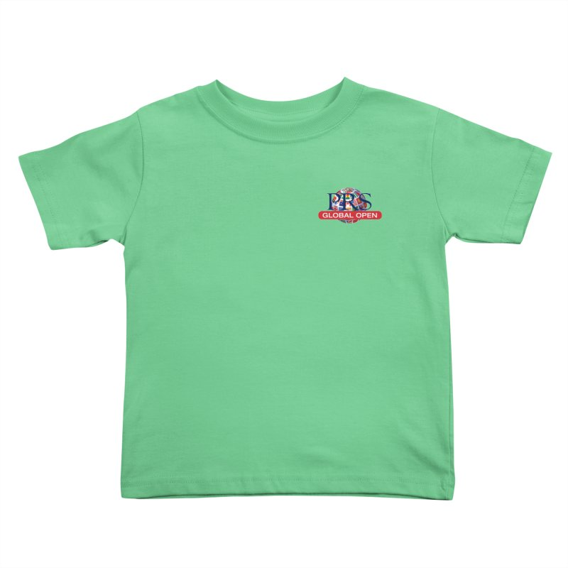 PRS Global Open - Pocket Size Kids Toddler T-Shirt by ThePRSJournals's Artist Shop