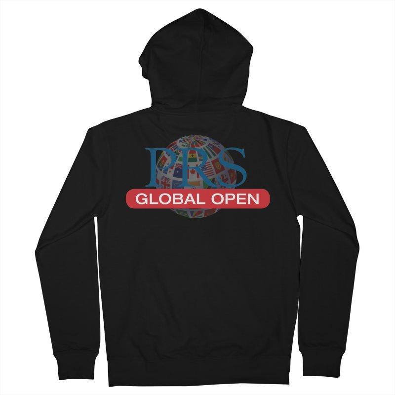 PRS Global Open Logo Men's Zip-Up Hoody by ThePRSJournals's Artist Shop