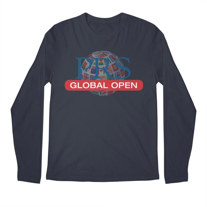 PRS Global Open Logo Men's Longsleeve T-Shirt by ThePRSJournals's Artist Shop