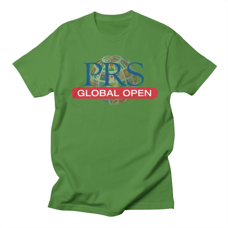 PRS Global Open Logo Men's T-Shirt by ThePRSJournals's Artist Shop