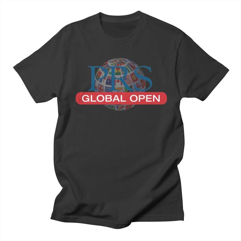 PRS Global Open Logo Men's T-shirt by ThePRSJournals's Artist Shop