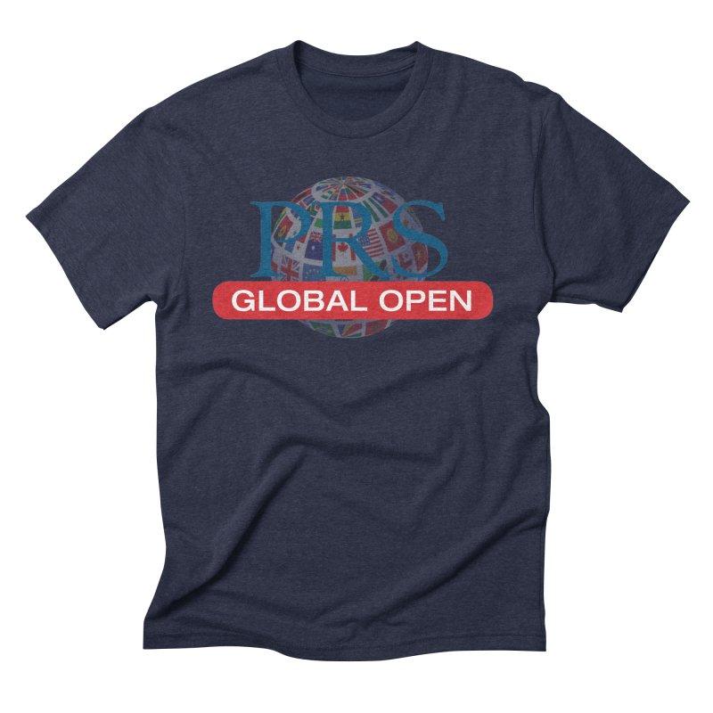 PRS Global Open Logo Men's Triblend T-Shirt by ThePRSJournals's Artist Shop