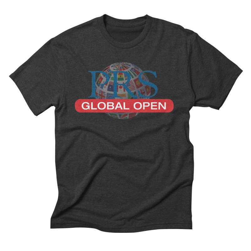 PRS Global Open Logo Men's Triblend T-Shirt by ThePRSJournals's Artist Shop