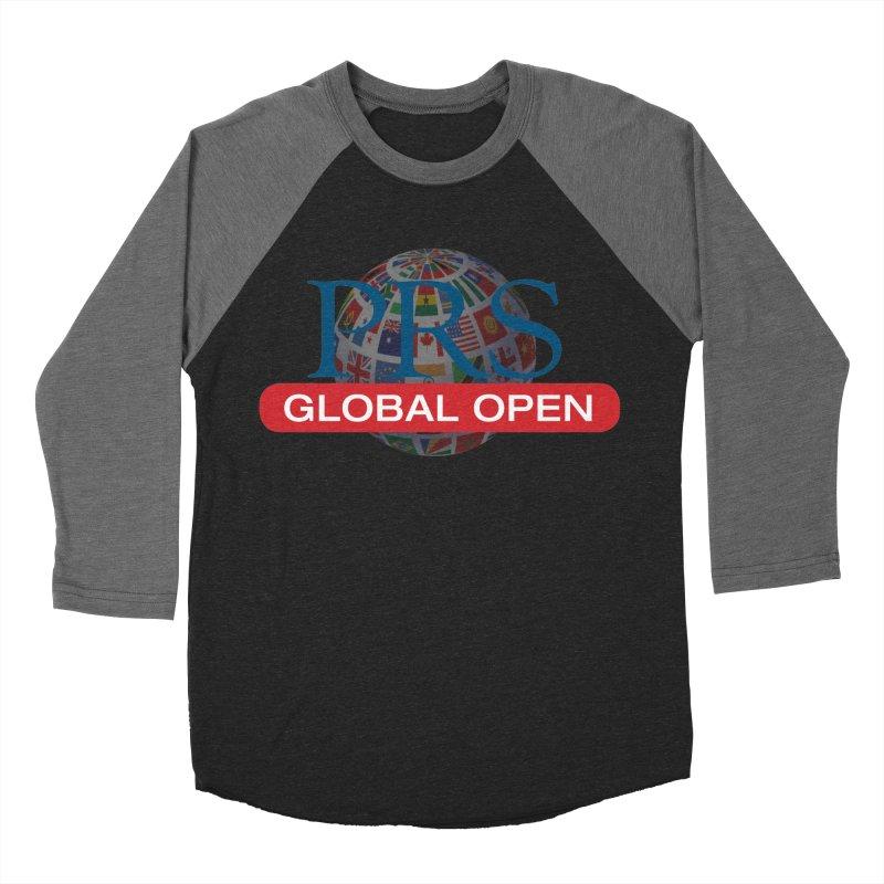 PRS Global Open Logo Women's Baseball Triblend T-Shirt by ThePRSJournals's Artist Shop