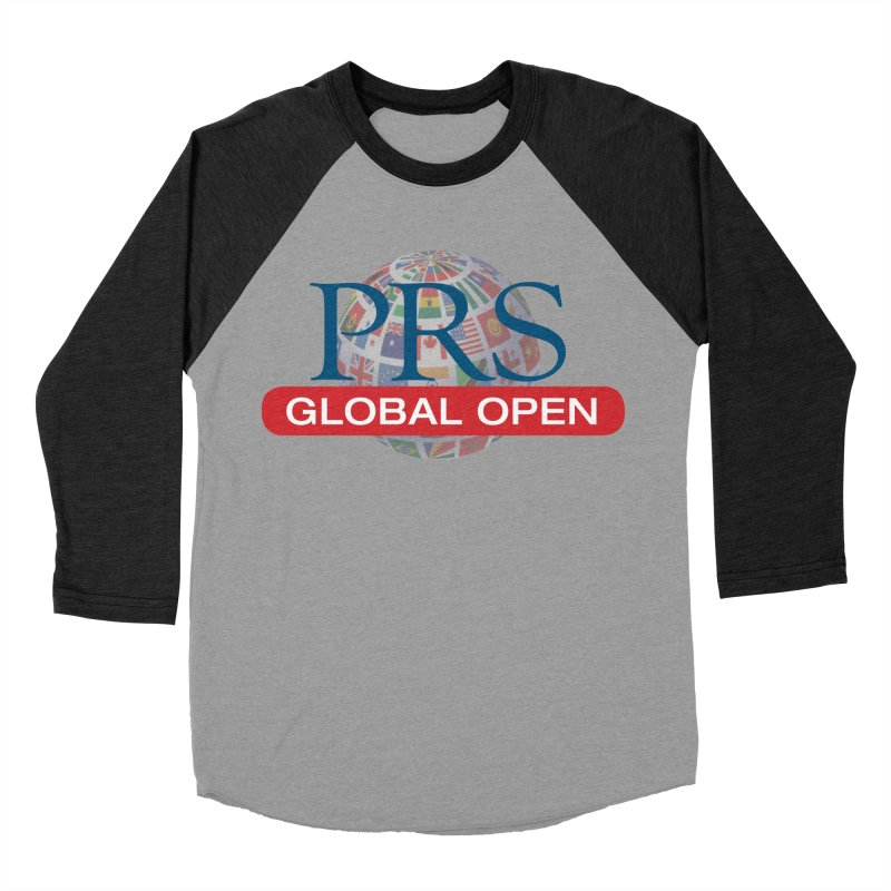 PRS Global Open Logo Women's Baseball Triblend T-Shirt by ThePRSJournals's Artist Shop