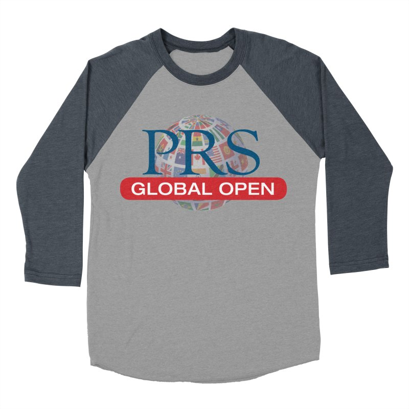 PRS Global Open Logo Men's Baseball Triblend T-Shirt by ThePRSJournals's Artist Shop