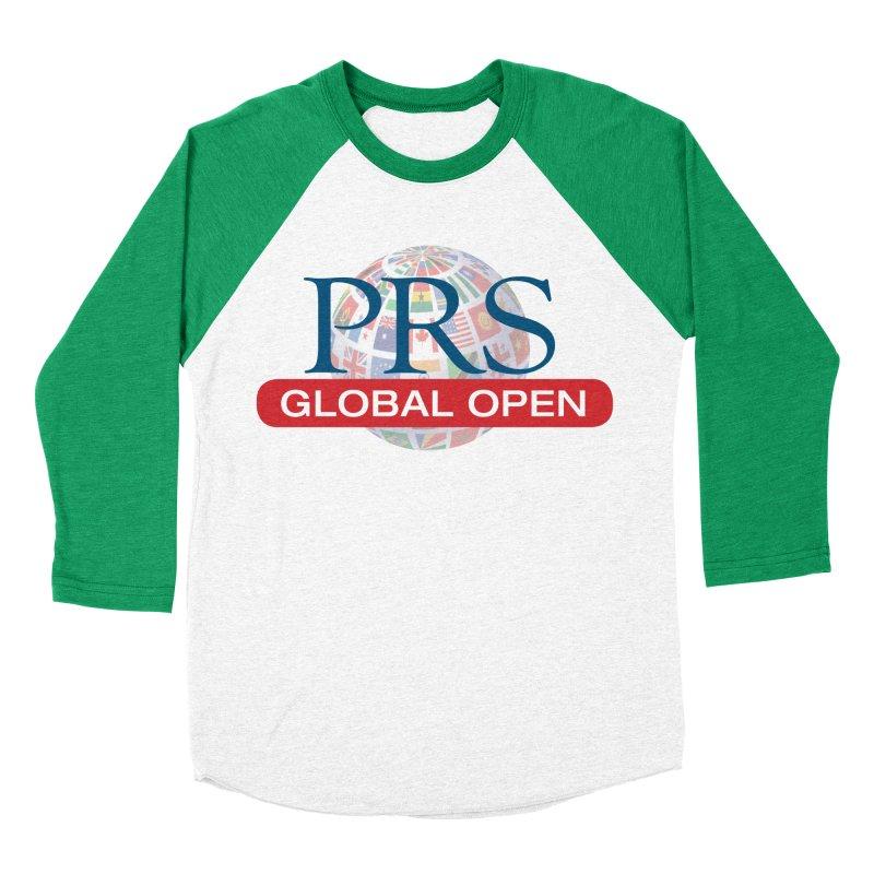 PRS Global Open Logo Men's Baseball Triblend T-Shirt by ThePRSJournals's Artist Shop