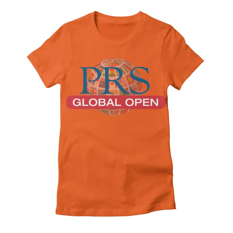 PRS Global Open Logo Women's Fitted T-Shirt by ThePRSJournals's Artist Shop