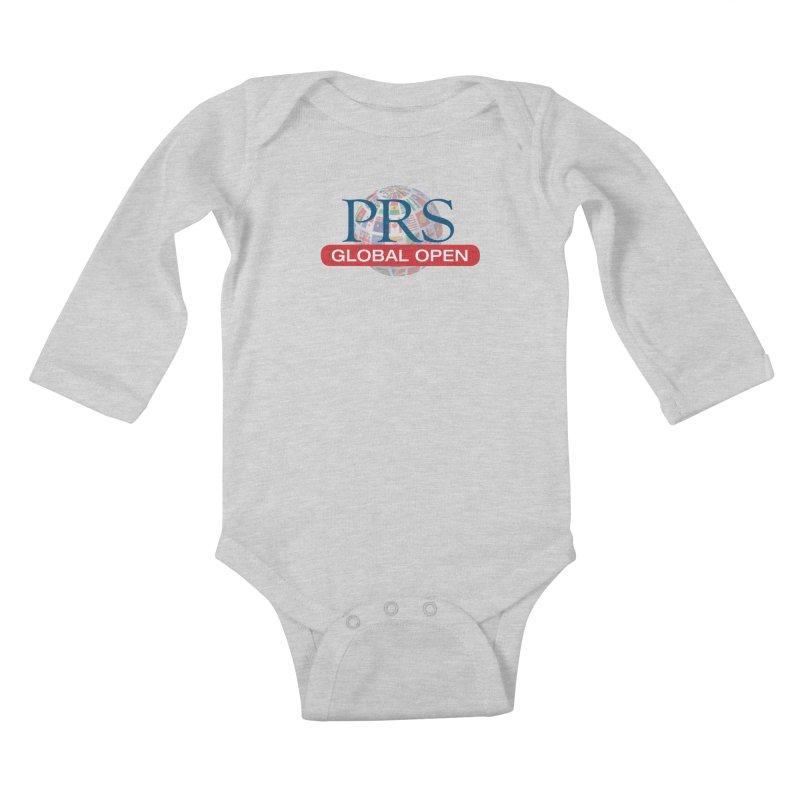 PRS Global Open Logo Kids Baby Longsleeve Bodysuit by ThePRSJournals's Artist Shop