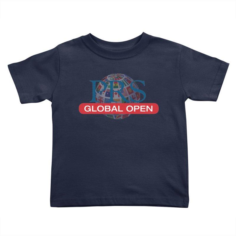 PRS Global Open Logo Kids Toddler T-Shirt by ThePRSJournals's Artist Shop