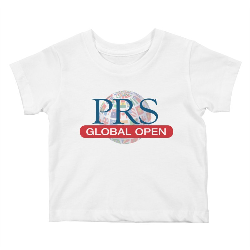 PRS Global Open Logo Kids Baby T-Shirt by ThePRSJournals's Artist Shop
