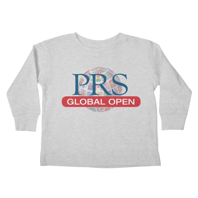 PRS Global Open Logo Kids Toddler Longsleeve T-Shirt by ThePRSJournals's Artist Shop