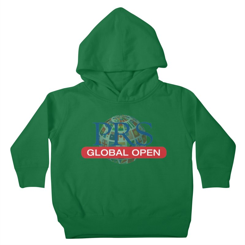 PRS Global Open Logo Kids Toddler Pullover Hoody by ThePRSJournals's Artist Shop